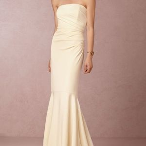 Badgley Mischka BHLDN Ivory Clover Wedding Dress